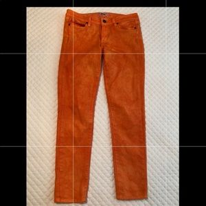 Women's Paige Jeans SZ 28 custom designed orange